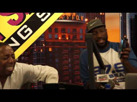 Rickey Smiley Shows Hilarious Monkey Video To Gary With Da Tea!