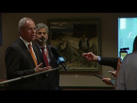 The Netherlands on Modernizing Peacekeeping Operations - Media Stakeout (9 May 2018)