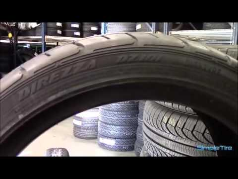 DUNLOP DIREZZA DZ101 TIRE REVIEW - YouTube