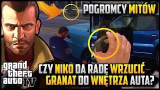 Czy Niko da radę wrzucić granat do wnętrza samochodu? - Niko w roli pogromcy mitów w GTA 4 #05