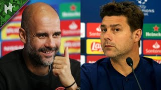 LIVE Pep Guardiola & Mauricio Pochettino press conferences | Man City 2-0 PSG