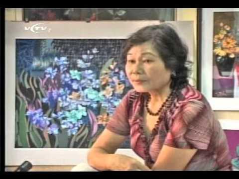 Tranh ghép vải vụn - VCTV1 - Hoạ sĩ Nguyễn Thị Phương Lan