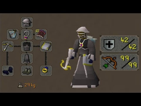 Pking on the Completed 42 Defence Account Build #19