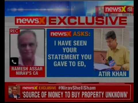 NewsX exposes the Nirav Modi shell scam; Nirav's CA spills the beans