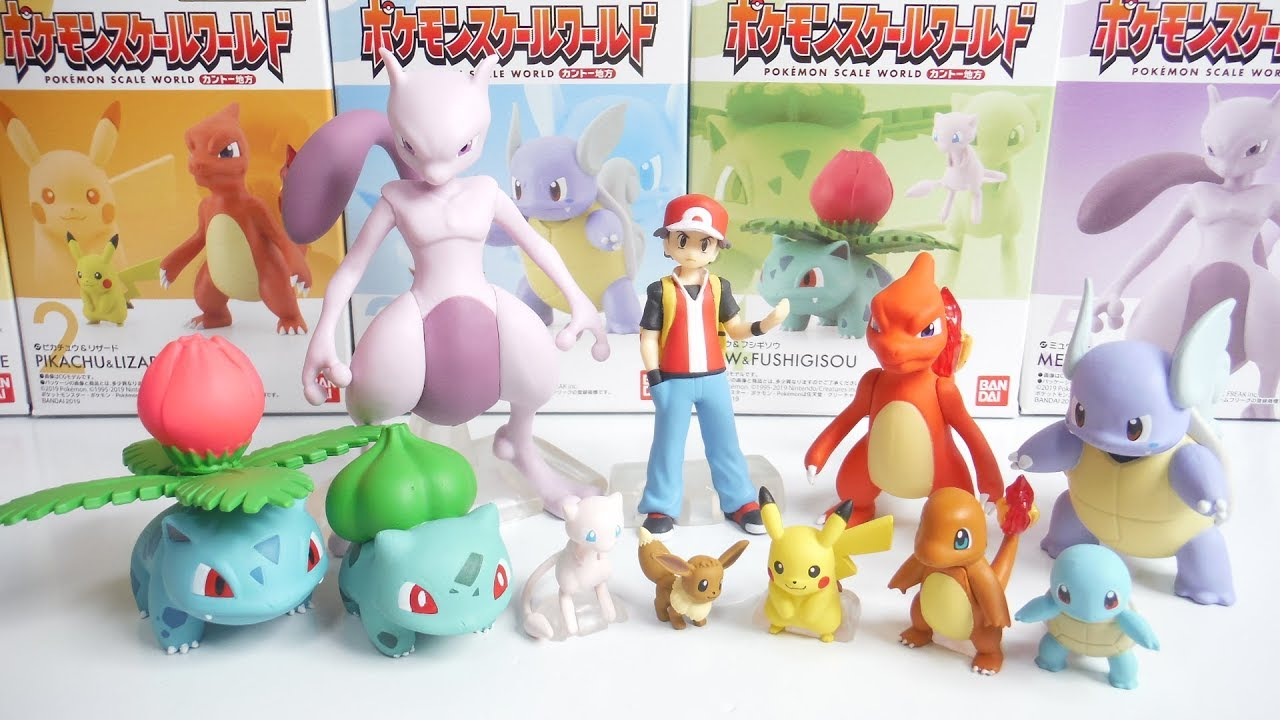 Pokemon figurine manzai height = 5cm official brand bandai-figure