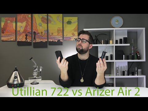 Utillian 722 vs Arizer Air 2 Vaporizer Comparison Review