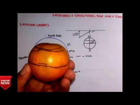 GG- 1। अक्षांश और देशांतर । । Latitudes and Longitudes,Heat zone, Time zone