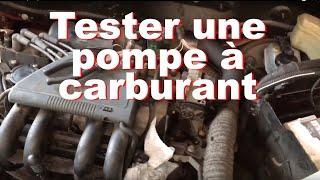 Tester une pompe à carburant et le bon fonctionnement du circuit - Renault Clio 2