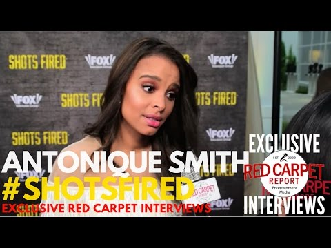 Antonique Smith ed at Shots Fired FYC Event Red Carpet ShotsFired