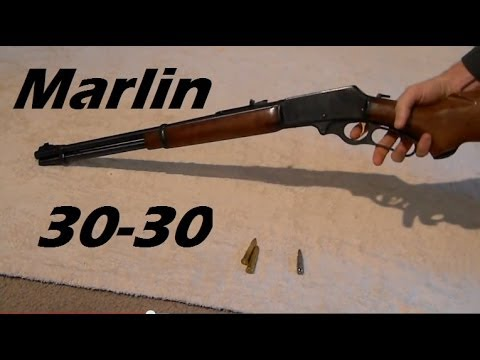 Overview Marlin 336 30 30 Lever Action Rifle Ammo Explanation