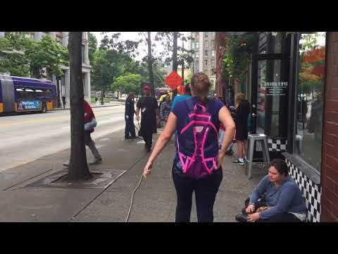 Downtown Courthouse Attacks, SEATTLE k8085