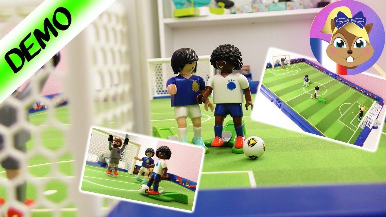 Playmobil fifa stade de foot coupe du monde 2018 jouons un match de foot youtube - Jeux de foot match coupe du monde ...