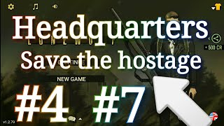 🔴lonewolf headquarters chapter 4 mission 7|| how to complete headquarters • save the hostages ✓