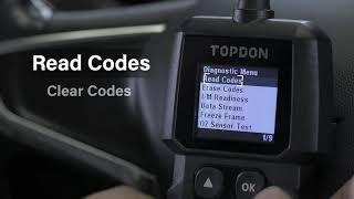 OBD2 сканер TOPDON AL300, считыватель кодов OBDII, автомобильный диагностический инструмент OBD2,