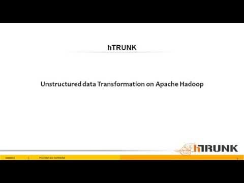 Unstructured data processing with Apache Hadoop and Apache Spark