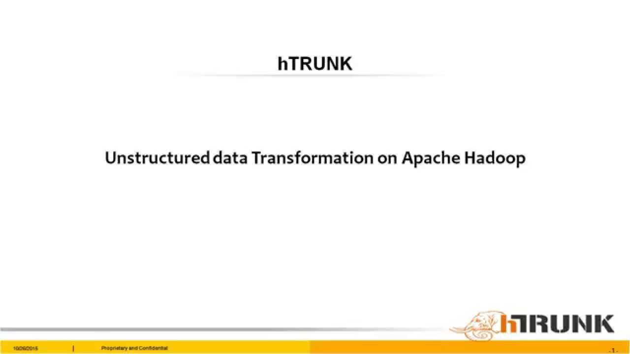 Unstructured data processing with apache hadoop and apache spark unstructured data processing with apache hadoop and apache spark baditri Gallery