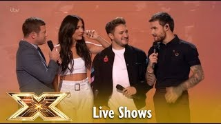 Louis Tomlinson REUNITES With Liam Payne In The Live Shows | The X Factor UK 2018 Video