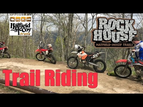 Hatfield McCoy Trails | Dirt Bike Trail Riding