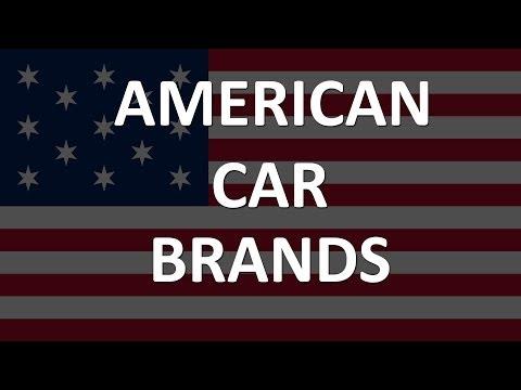 American Car Brands