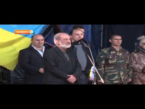 «Армянский ДУДУК» на вече памяти Небесной сотни