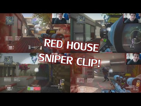RED HOUSE REACTS TO FIRST SNIPER CLIP!