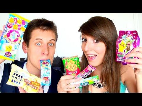 Dégustation Candysan en Couple #8 : Chewing-gums DÉLICIEUX et PIÉGÉS ! Bonbon MOUSSANT, Kit Kracie !