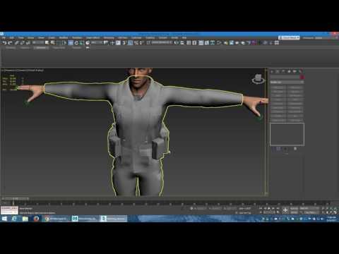 3ds Max MotionBuilder Skin Deformation Export problems - YouTube