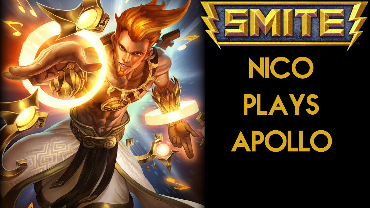smite apollo gameplay well ima try this thing again youtube