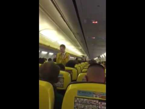 Ruby Walsh Among Irish Fans On A Plane To France
