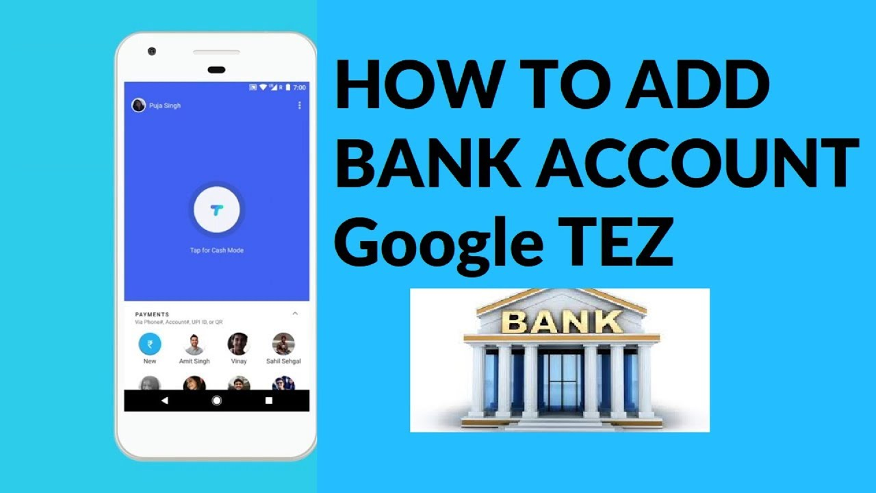 how to add bank account to youtube