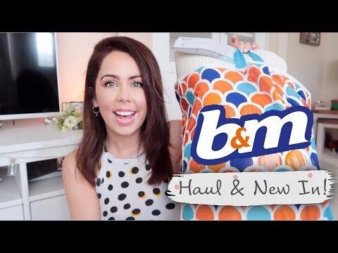 B&M HAUL 2019 | What's New in B&M