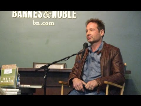 David Duchovny Bucky F*cking Dent Barnes and Noble Discussion 4/12/16