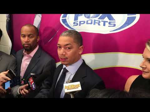 Tyronn Lue talks LeBron James