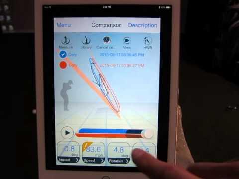 Epson M-Tracer Golf Swing Analyzer App by Par2Pro