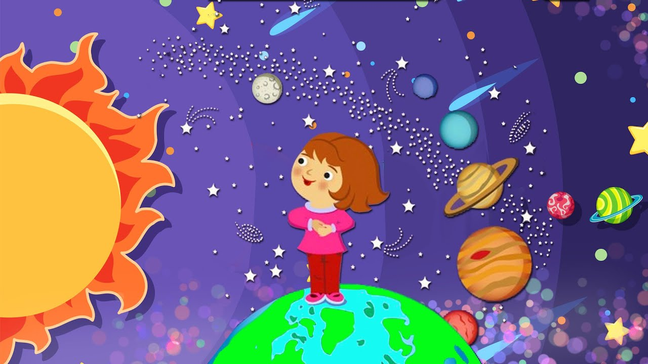 Планеты солнечной системы. Астрономия для детей. Космос