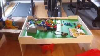 White Melissa And Doug Play Table With Drawer
