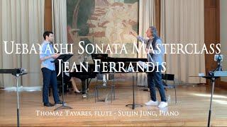 Jean Ferrandis Masterclass - Uebayashi Flute Sonata: I. Lento ( Thomaz Tavares  and Suejin Jung)