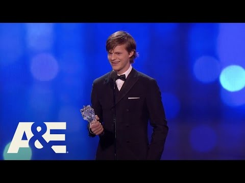 Lucas Hedges Wins Best Young Actor  22nd Annual Critics' Choice Awards  A&E