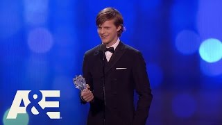 Lucas Hedges Wins Best Young Actor | 22nd Annual Critics' Choice Awards | A&E streaming