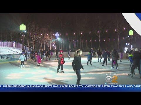 Families Flock To Bergen County Winter Wonderland