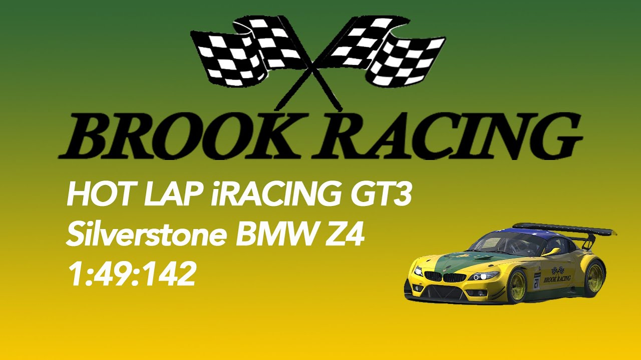 iRacing GT3 BMW Z4 Hot Lap @Silverstone 1:49:104