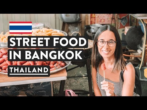 THAILAND FOOD TOUR | Bangkok Thai Street Food | A Chefs Tour Travel Vlog