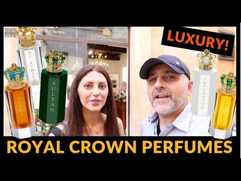 Royal Crown Perfumes Preview With Nicoletta In Rome, Italy 👑👑👑