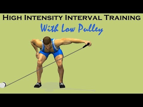 Full Body HIIT Workout With Low Cable Pulley Intervals