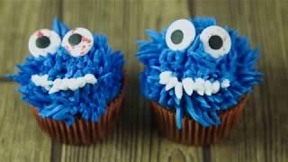 How to Pipe Monster Cupcake Tops | Sneak Peak | Global Sugar Art