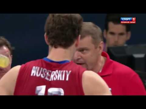 Легендарная победа наших волейболистов в Лондоне.