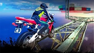 Impossible Bike Stunts 3D ▶️Android Gameplay HD | New Android Games 2017|Integer Games| Racing Games