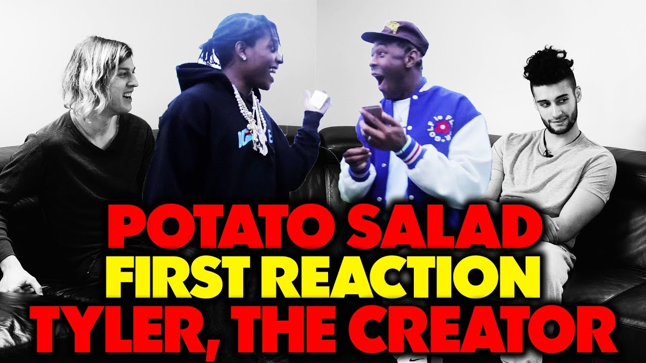 a7017a5ef5f3 TYLER THE CREATOR X A AP ROCKY - POTATO SALAD REACTION REVIEW (Jungle Beats)