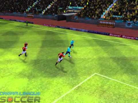 Dream Soccer Replay - Reverse Header