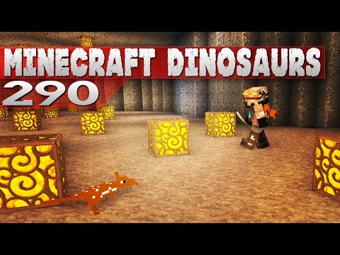 Minecraft Dinosaurs! || 290 || Adventure with Caff!